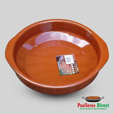 28cm Spanish Terracotta Tapas Dish / Cazuela