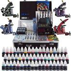 Tattoo set Tattoo Compleet 4 machines - 40 ink met koffer