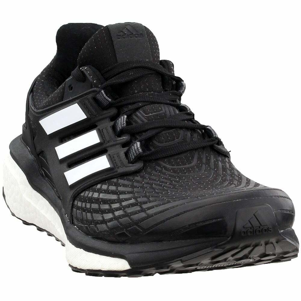 adidas Energy Boost  Casual Running Neutral Shoes - Black - Mens