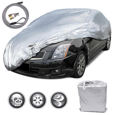 New Full Car Cover Deluxe All Weather UV Waterproof fits 1992   2005 Honda Civic