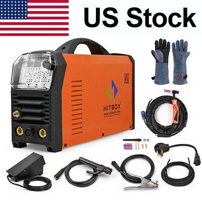 Hitbox 110220v Dual Volt Ac Dc Aluminum Welding Machine Pfc Pulse Tig Arc Mma