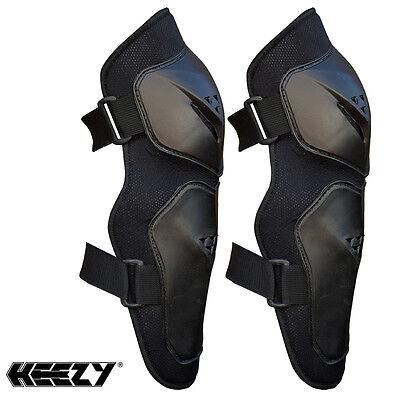 HEEZY Knieprotektoren Knie Protektoren Schienbein Schoner Motocross Ski