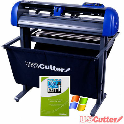 28 Inch TITAN Vinyl Cutter Professional Sign Maker + Free Design/Cut Software