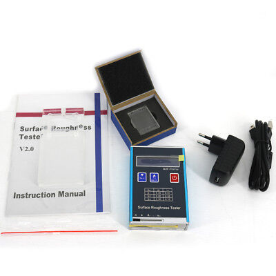 New Digital Surface Roughness Tester Kr110 With 4 Parametersra Rz Rq Rt