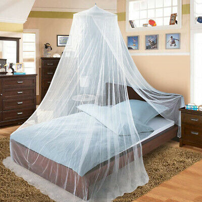Mosquito Net Bed Queen Size Home Bedding Canopy Elegant Bedshed Netting Princess