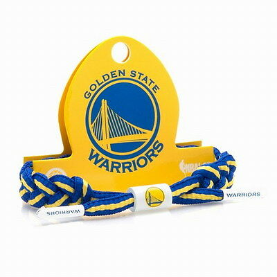 New Rastaclat NBA Golden State WARRIORS Basketball Shoelace Bracelet RC001GSW