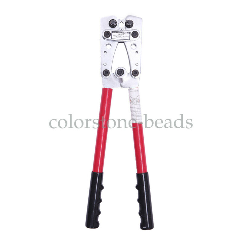 6.0-50mm² Hydraulic Wire Battery Cable Lug Terminal Crimper Plier Crimping Tool