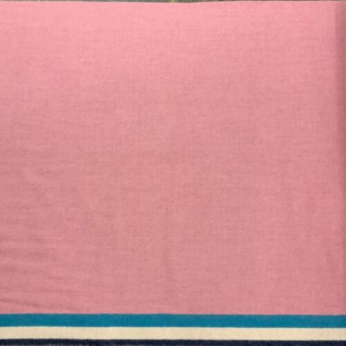 TRADE CLOTH 3-Band Pink 100% WOOL