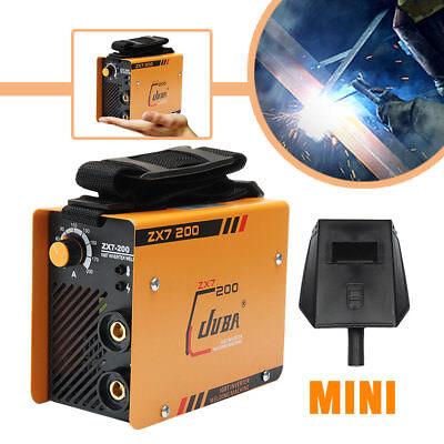 5.5 Kw Zx7-200 Mini Mma Arc Welder Dc Igbt Welding Machine Solder Inverter 220v
