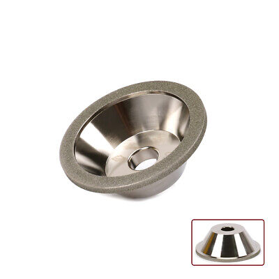 4 Inch Diamond Grinding Wheel Cup For Cutter Grinder For Carbide Metal 240 Grit