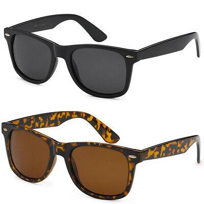 Polarized Men Women Metal Hinge Sunglasses Black White Tortoise Glasses (Inexpensive Polarized Sunglasses)
