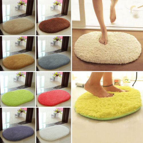 Absorbent Soft Memory Foam Bath Bathroom Bedroom ...