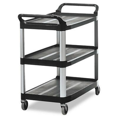 Rubbermaid Fg409100bla Utility Cart 300lb Brand New