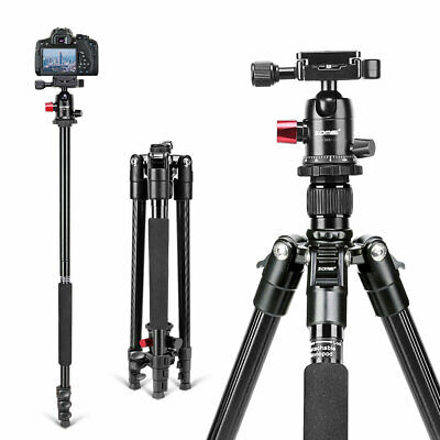 ZOMEI M6 Camera Tripod Monopod Heavy Duty Aluminium&Ball Head for Canon Nikon