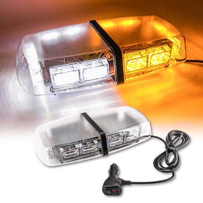 LED Roof Strobe Light Bar for Truck Emergency Warning Flash Beacon Lights Amber