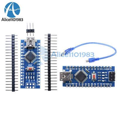 125pcs Nano V3.0 Atmega328 5v 16m Mini Usb Micro-controller Ch340 For Arduino