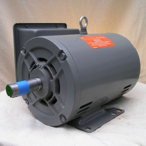 General Electric 5.0 HP 230 V. Electric Motor 1760 RPM New