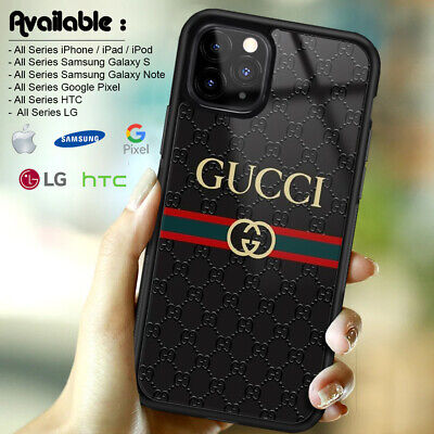 Case Print Guccy45r6 iPhone 7 X XR XS 11 Pro Max With Tempered Glass Protector