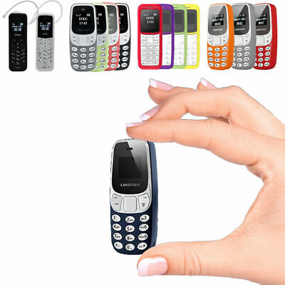 Kleinstes Mini Handy echtes Telefon Bluetooth Kein Simlock Phone Dualband GSM Prepaid Handy Bluetooth