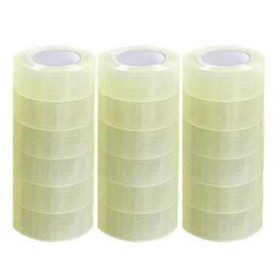 Packing Tape 18 Rolls 1.9 X 110 Yards 330 Ft Box Carton Sealing Clear 2 Mil