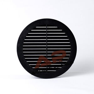 circle bouche a ration grille housse noir 100mm 4 conduit ventilation de ebay. Black Bedroom Furniture Sets. Home Design Ideas