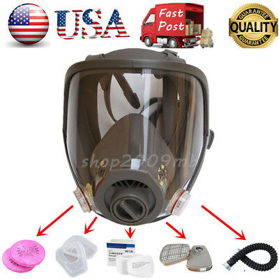 Update Dust Gas Mask of  6800 Full Face Facepiece Respirator Painting Spraying - Full Face Gas Mask