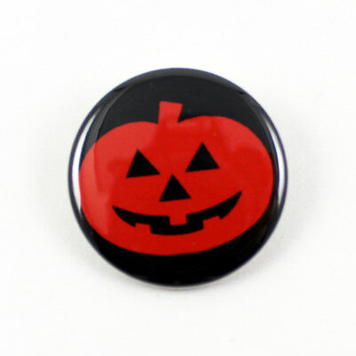 Halloween III Silver Shamrock Magic Pumpkin -  1 1/4 Inch Pinback Button horror (Silver Shamrock Halloween)