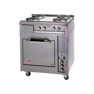 "Lang R30S-ATA 30"" Electric Range W/ 4 French Plates"