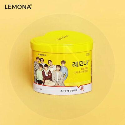 BTS LEMONA Pakage Heart can Random 60pcs Pharmacy Package + tracking Num