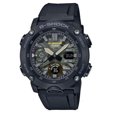 Casio G-Shock GA-2000SU-1AER Analogue/Digital Military 200m WR RRP £119.00 comprar usado  Enviando para Brazil