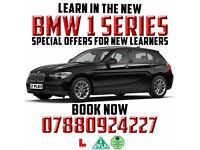 AUTOMATIC DRIVING TUITION in a BRAND NEW 2017 BMW 1 SERIES - DISCOUNTS FOR NEW LEARNERS