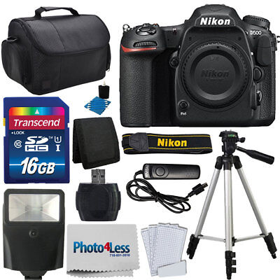 Nikon D500 Digital SLR Camera 20.9MP DX-Format Body + Complete Accessory Bundle for sale  Shipping to India