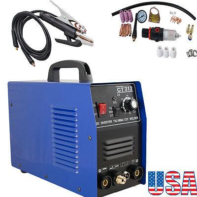 Usa3in1 Ct312 Tigmma Air Plasma Cutter Welder Welding Torch Machine Multi-use
