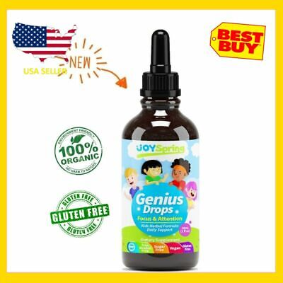 Best Natural Focus Supplement for Kids, Supports Healthy Brain Function to