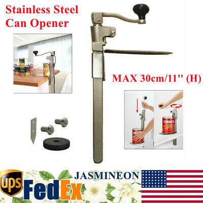 11 Commercial Food Can Opener Stainless Steel For Kitchen Restaurant Hotel Bar
