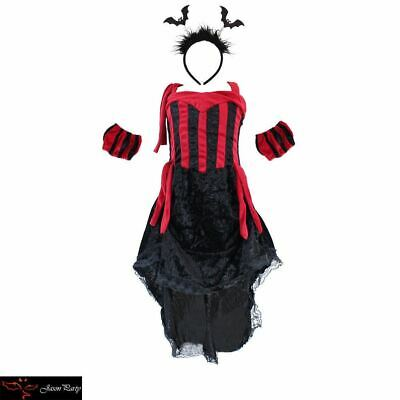 Evil Queen girl Sexy Halloween costume party cosplay Vampire Outfit fancy dress - Vampire Costume Girl