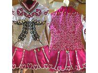 Girls Irish Dance Dress Suit Age 7-9