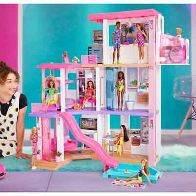 Barbie Day to Night Dreamhouse Playset Accessories 109cm Figure Toy Doll House