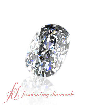 Cushion Cut 0.51 Ct GIA Certified Laser Inscribed Diamond For SALE - SI1 Clarity