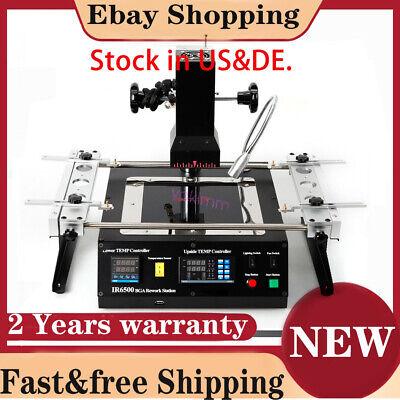 Bga Rework Station Ir6500 Soldering System Infrared Reballing Machine Usde Fast