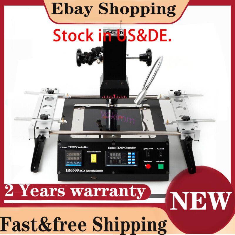 BGA rework station IR6500 soldering system Infrared reballing machine US/DE fast