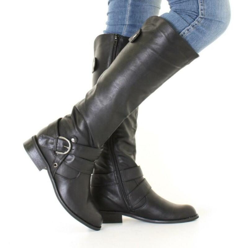 Womens black leather knee high boots – Novelties of modern fashion ...