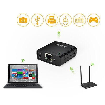 Wavlink 100Mbps USB2.0 LPR Printer Network Server Print Share LAN Networking