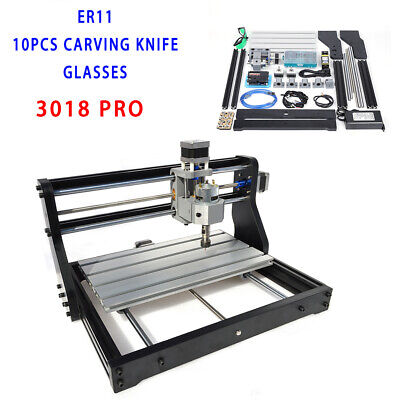 Cnc 3018 Pro 2.5w Usb 3axis Laser Engraving Cutting Machine Wood Leather Plastic
