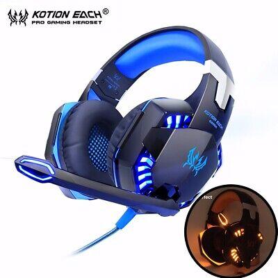 Kotion EACH G2000 Computer Stereo Gaming Headphones Best casque Deep Bass