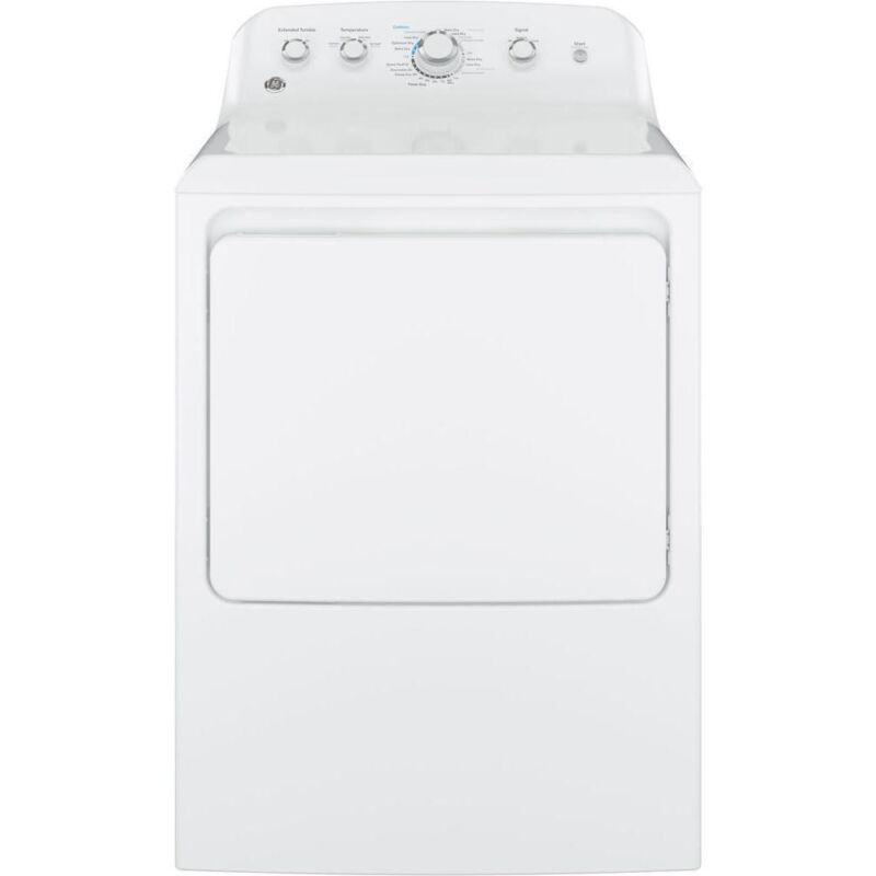 GE 7.2 Cu. Ft. 4-Cycle Electric Dryer White GTD42EASJWW