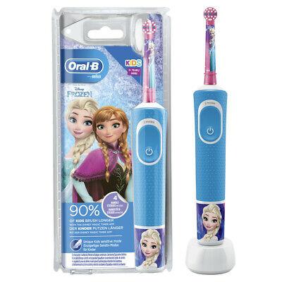 ORAL-B Kids Frozen Eléctrico Cepillo de Dientes Con Disney-Stickern Timer Pila