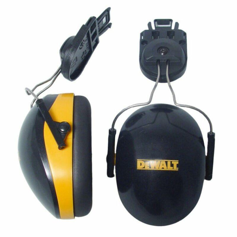 DeWalt Cap Mount Earmuffs For Slotted Hard Hats, NRR 26, Yellow #DPG66-D