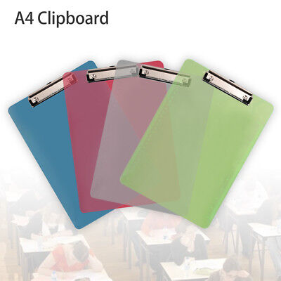 A4 Clip Board 4 Colors To Choose Clipboards With Pen Holder Foolscap Office Work