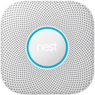 Google Nest Protect Wired Smoke and Carbon Monoxide Alarm (W